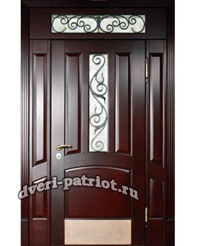 двери входные теплые для коттеджа со стеклом