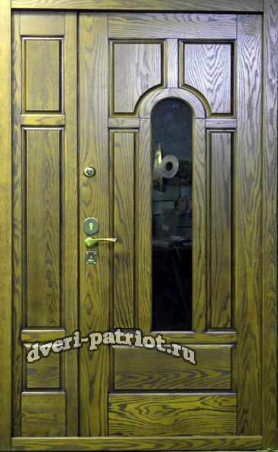 стоимость металлической двухстворчатой двери