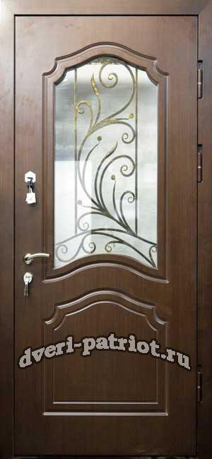 купить двери входные на дачу дешево со стеклом