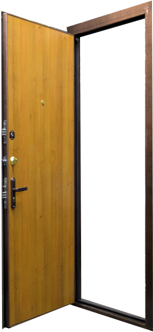 тамбурные металлические двери с порошковым покрытием