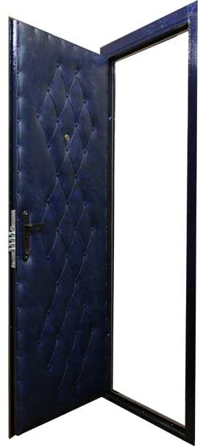 сколько стоит вставить недорогую металлическую дверь