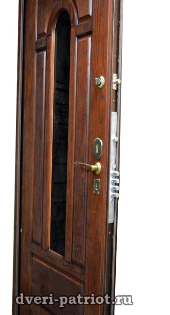 дверь входная со стеклопакетом купить в одинцово