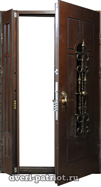 металлические входные двери на речном