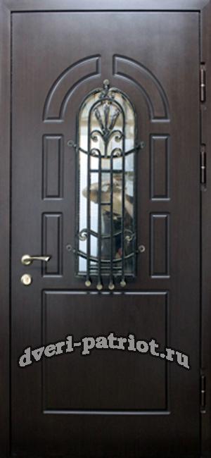 стальные двери остеклением