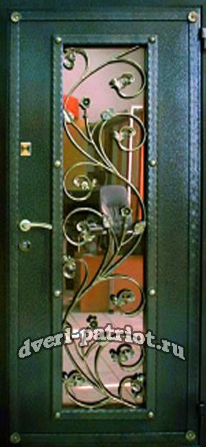 двери металл входные со стеклом