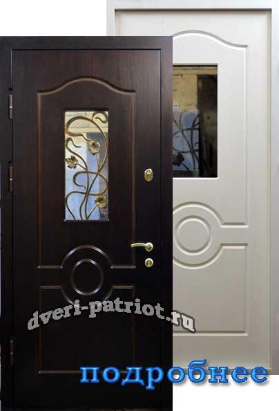 стальная дверь с антивандальным стеклом стоимость