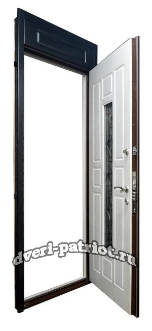 дверь металлическая со стеклом прайс
