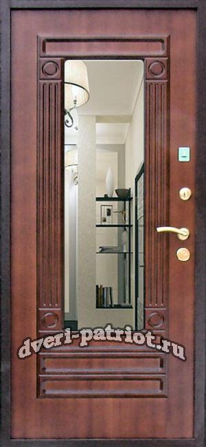 входной двери с зеркалом установка стоимость